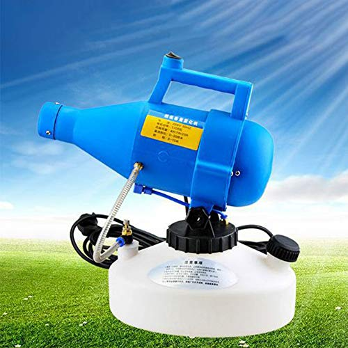 Balaber Portable eléctrica pulverizador 4.5L pulverizador herbicida pesticida pulverizador rociador rociador de...