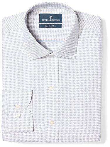 Camisa Sin Cuello Hombre  marca Buttoned Down