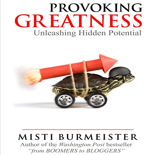 Provoking Greatness audiobook cover art