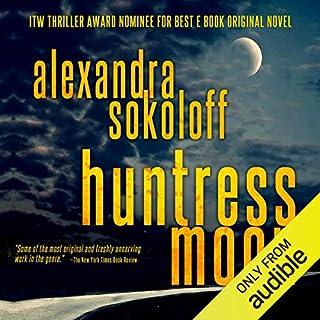 Huntress Moon audiobook cover art