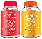 Oso Yummy Immunity Bundle - Turmeric Curcumin & Ginger Gummies + Apple Cider Vinegar Gummies for Kids & Adults