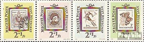 Prophila Collection Ungarn 1868A-1871A Viererstreifen (kompl.Ausg.) 1962 Tag der Briefmarke (Briefmarken für Sammler) Schmetterlinge