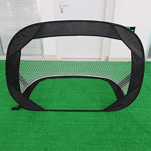 WanuigH Portería de Fútbol Portátil Plegable Fútbol Meta Multifuncional Portable Simple Meta...