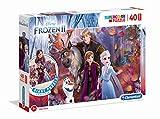 Clementoni- Puzzle Suelo 40 Piezas Frozen 2 (25464.4)