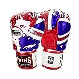 Twins ボクシンググローブ 本革製 UK 16オンス