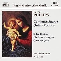 Cantiones Sacrae Quinis Vocibus by PHILIPS (2002-01-15)