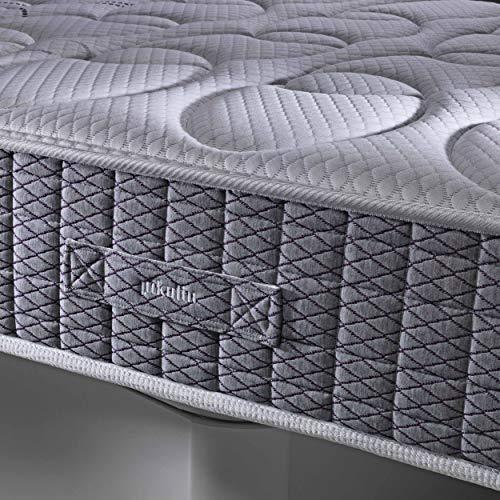 PIKOLIN Colchón viscoelástico 105x190 firmeza Alta, Alta Densidad, Reversible, Gama Alta, Alto 27 cm - Colchones Dardania
