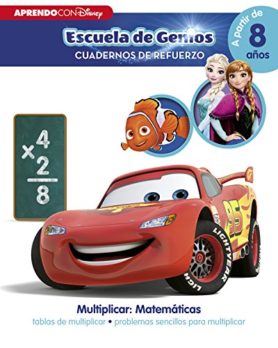 Multiplicar: Matemáticas: tablas de multiplicar · problemas sencillos para multiplicar (Disney Escuela...