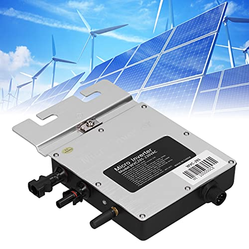 Eosnow Inverter Solare, condizionatore di Potenza Integrato Funzione di tracciamento MPPT per di Generazione di energia fotovoltaica Impermeabile Solare