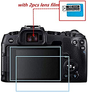 Crystal Clear Screen Protector for Canon EOS RP, [2pack] HD Screen Tempered Glass Protective Film Canon EOS RP Digital Camera