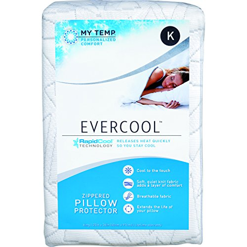 Aller-Ease Evercool Protector – Soft RapidCool Fiber is...