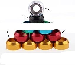 4-10 stks/partij m2 m2.5 m3 m4 m5 m6 m8 cap hoofd aluminium kegel wasmachine Arm Dress-Up Washers-m6 10 stuks, oranje