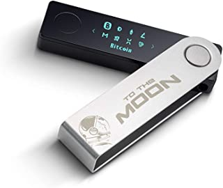 Ledger Nano X - to The Moon Edition - Cryptocurrency Hardware Wallet - Bluetooth