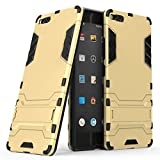 JINXIUCASE Handyhülle Fall, Smartisan U1 Pro (2017) Hülle, 2 in 1 Iron Armour Tough Style Hybrid Dual Layer Armor Defender PC + TPU Schutzhülle mit Stand Shockproof Hülle für Smartisan U1 Pro (2017)