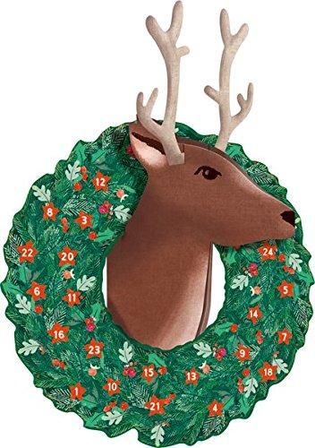3D-Wandkalender - Rentier-Weihnacht