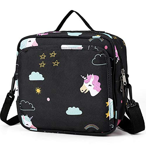 Kuashidai Bolsa de pañales, bolsa de almacenamiento para bebé con hombro, correa de gran capacidad, bolsa de pañales para bebé, bolsa de viaje impermeable, bolsa de almacenamiento para madre mujer