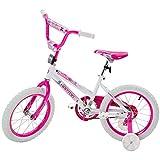 BTM 子ども用自転車 補助輪付き 軽量 16インチ 95%組立完了 1年安心保証 PL保険加入済み クリスマスプレゼント 安い (新型-ピンク, 16インチ)