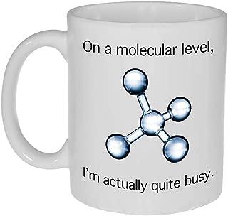 Busy Molecular Structure Coffee or Tea Mug -11 ounce