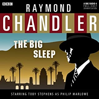 Couverture de Raymond Chandler: The Big Sleep (Dramatised)