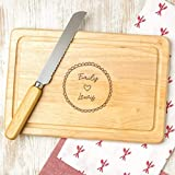 Personalized Cheese Board - Valentine's Day Gift for Boyfriend...