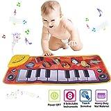 PROACC Klavier Matte, Kinder Elektronisch Tastatur Musik Spielmatte Spielzeug, Komisch Tanzen Matte...