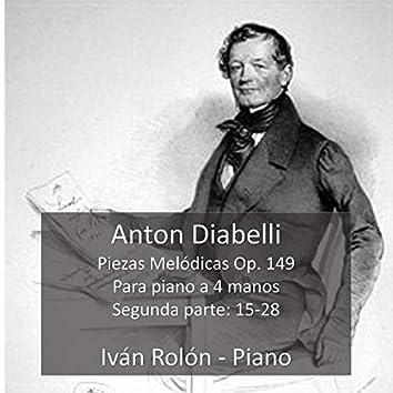 Piezas melódicas Op. 149 (Segunda parte)