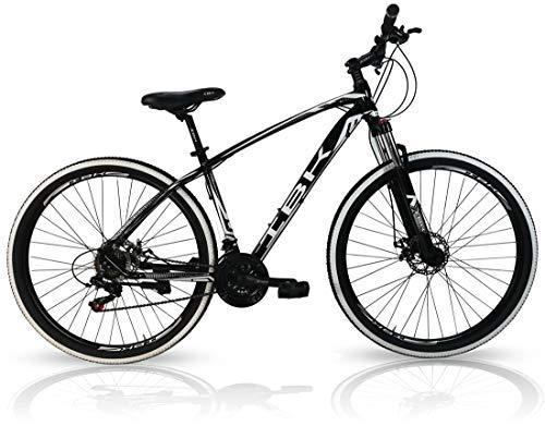 IBK Bicicletta Mountain Bike Adulto 29' TXC Alluminio Ammortizzata Cambio Shimano 21V (Nero)