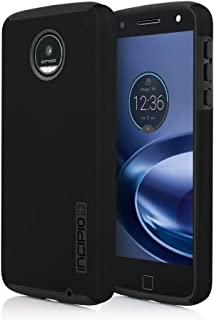 Incipio DualPro Case for Moto Z Force Smartphone - Black / Black