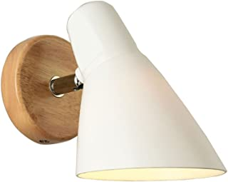MX Light Fixture Modern Bedside Lamp, White Interior Lighting Wall Lamp, with Swing Arm Bedroom/Hallway/Office/Restaurant/...