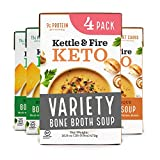 KETO-FRIENDLY HIGH QUALITY INGREDIENTS: Our slow-simmered, collagen-rich, chicken bone broth is used as the soup base, combined with fat from clean sources like coconut cream or heavy cream, plus organic vegetables, help you hit your macros with a sm...
