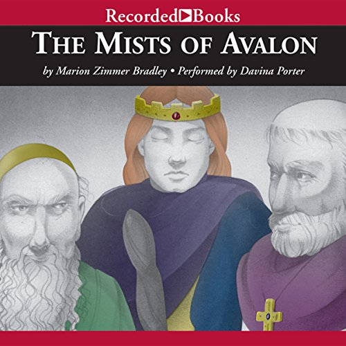 The Mists of Avalon audiobook cover art