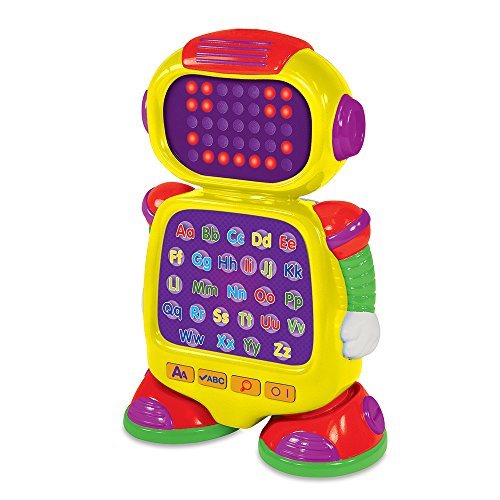 The Learning Journey Touch & Learn - AlphaBot - Interactive Alphabet, Spelling, & Phonics Robot Toy...