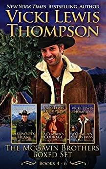 The McGavin Brothers Boxed Set: Books 4 - 6 by [Vicki Lewis Thompson]