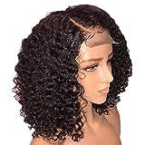 332PageAnn Perruque Lace Frontal Perruque Cheveux Bouclés Court En Fibre Style De Europe Et Amérique Femmes Filles, Couverture...