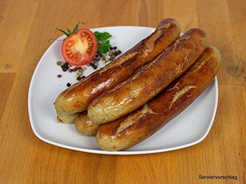Bratwurst 10x100g - Rostbratwurst/Grillwurst ideal für Grill und Pfanne - Original westfälische Bratwurst von Ringhoff - Die Bratwurst der Profis, gehört auf Jeden Bratwurst Grill