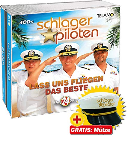 """Lass uns fliegen - Das Beste + GRATIS Mütze \""""Die Schlagerpiloten\"""""""