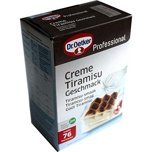 Dr. Oetker Professional Creme Tiramisu-Geschmack (1Kg Packung)