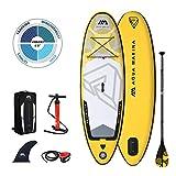Aqua Marina Tabla de paddle surf universal para niños y adolescentes VIBRANT 10 x 71...