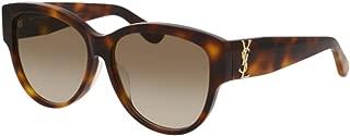 SL M3/F Sunglasses 005 Havana / Brown Gradient Lens 57 mm