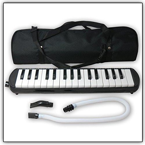 Tuyama® TMD-132 Melodica mit 2 Mundstücken + Koffer (32 Tasten)