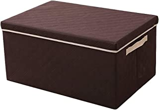 O&YQ Sac de Rangement/Paniers de Ménage , Boîte en Tissu Pour Panier de Rangement Boîte en Tissu Pliante Pour Grands Vêtem...