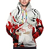 Deadman Wonderland Men's Sports Hoodie Sweater Black
