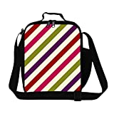 Creativebags Lunch Storage Bags Totes With Bottle Pocket for Adult Kids