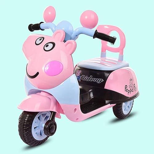 Ahorre 60% de descuento y envío rápido a todo el mundo. ZHAOHUIFANG Niños Que Montan El Triciclo Eléctrico del Juguete Juguete Juguete del Coche Eléctrico De La Motocicleta De Los Niños del Coche del Juguete,Highversion- 2  buen precio