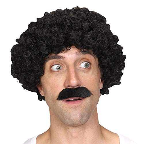 Wicked Costumes Mens Shifty Guy Wig & Tash