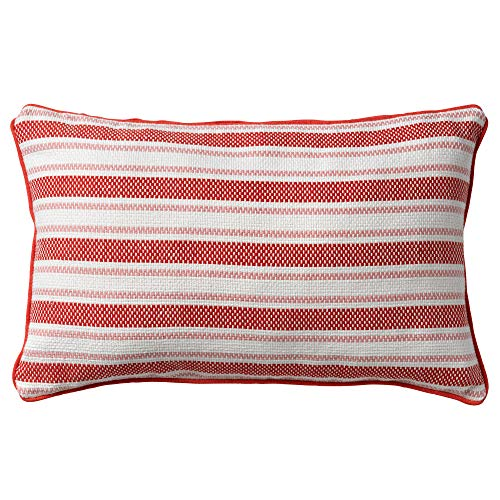 Dutch Decor Stripes Sierkussen, Rood, 30X50