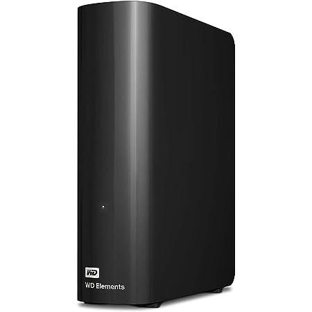 WD Elements Desktop - Disco duro externo de sobremesa de 10 TB, color negro