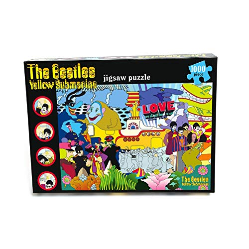 Paul Lamond Juegos Beatles Yellow Puzzle Submarino (1000 Piezas)