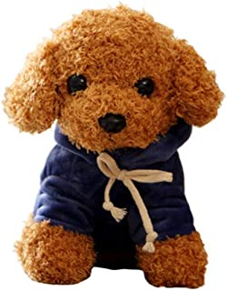 Cartone Animato Simpatico Cucciolo di Cane Barboncino Peluche Bambola di Pezza Huggable Toy Home Ornament Gift Bambola di Peluche