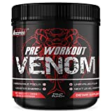 Pre Workout Venom 'Fruit Punch' - The No1 Pump Pre Workout Supplement by Freak Athletics - Elite Level Pre Workout Supplement - Pre Workout Powder Made in The UK - Available in Fruit Punch